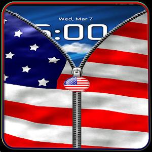 US Flag Zipper Lock Free 1.1
