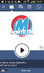 Monte FM 96,7 Monte Carmelo MG screenshot 0