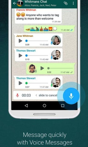 Update WhatsApp Messenger screenshot 3