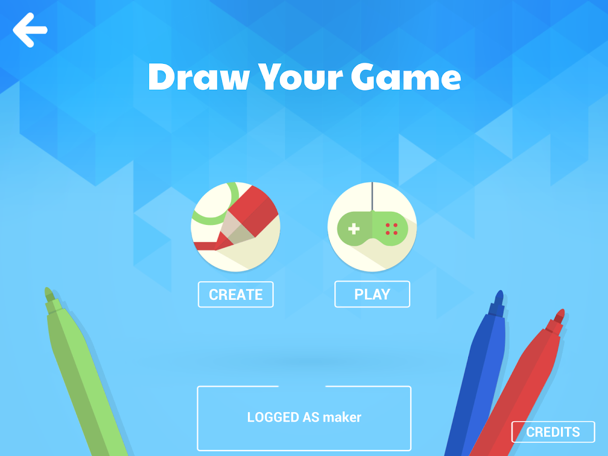 Draw Your Game: captura de pantalla