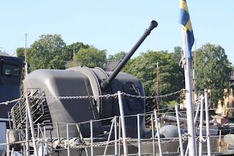 Photo: R 142 Ystad 57 mm Bofors allmålskanon