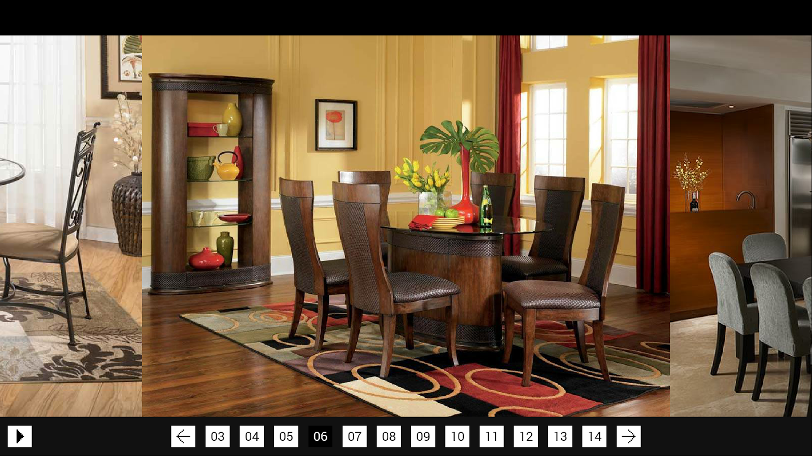 Dining room decor android apps on google play for Q significa dining room