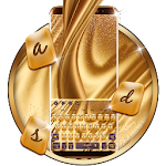 Golden Silk Keyboard Theme