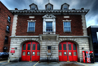 Photo: DCFC Engine Company No. 28  I came across this fire station walking back from the National Zoo to the Metro station.  If you like this photo, there are more like it on my blog at http://williambeem.com.