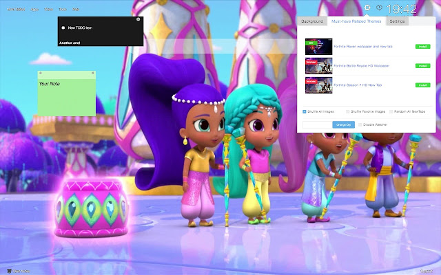 Shimmer And Shine Wallpapers New Tab