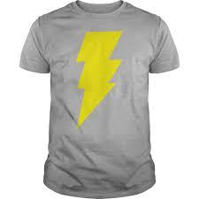 Image result for Grey shirt yellow lightning bolt