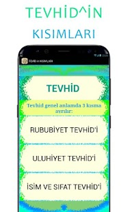 TEWHİD - náhled
