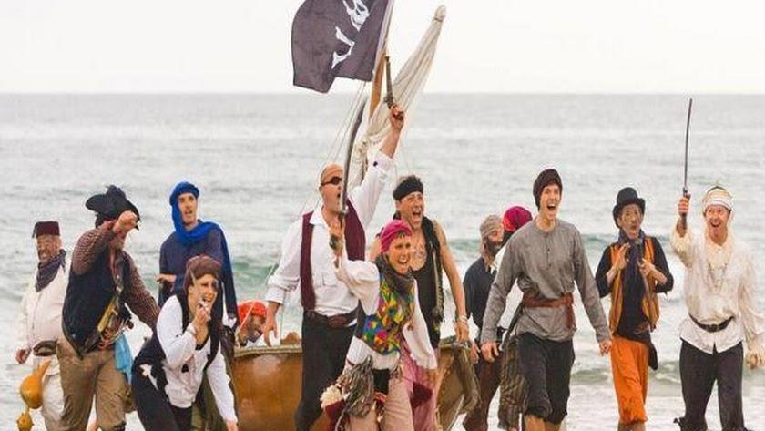 Imagen de archivo del Desembarco Pirata.