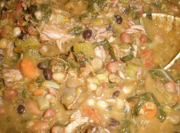 Neck Bone Bean Soup-kl Recipe