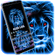 Neon Lion Keyboard Theme APK