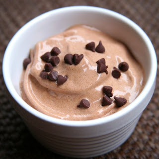 Vegan Chocolate Ice Cream.