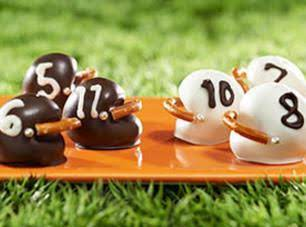 Oreo Football Helmet Cookie Balls Recipe