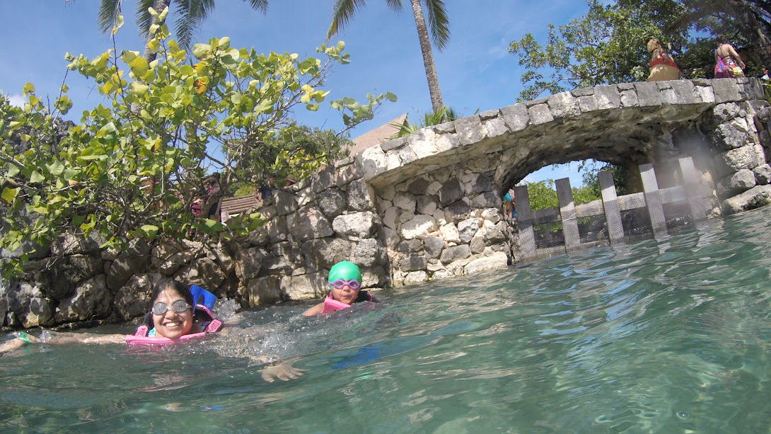 snorkelling in Xcaret