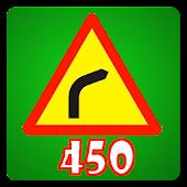450 Câu hỏi sát hạch lái xe