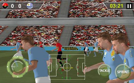 Ultimate Football Real Soccer 2.3 screenshot 964649
