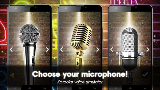 Karaoke voice sing & record 7.63 screenshots 1