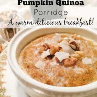 Food Babe's Pumpkin Quinoa Porridge