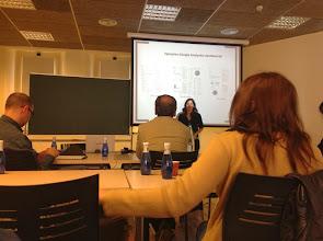 Photo: Elena Villaespesa de la Tate ens parla sobre avaluació de públics