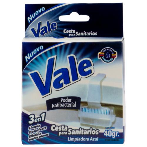 limpiador vale cesta sanitario azul 40gr