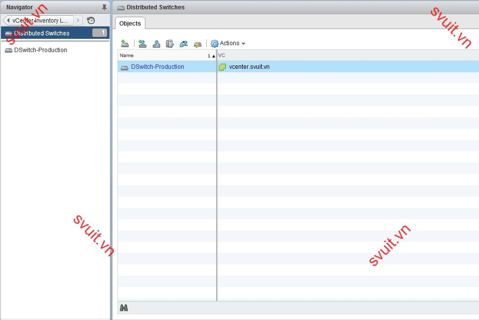 create vSphere Distributed Switch (8)