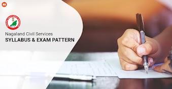 Nagaland Civil Services Syllabus and Exam Pattern