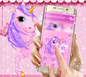 Beauty Pure Unicorn Theme - náhled