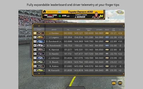 NASCAR RACEVIEW MOBILE - screenshot thumbnail