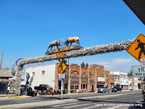 Photo: Archway in Afton, Wyoming