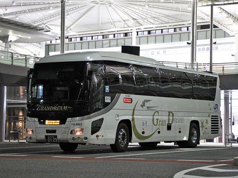 西日本JRバス「グランドリーム大阪2号」 2129