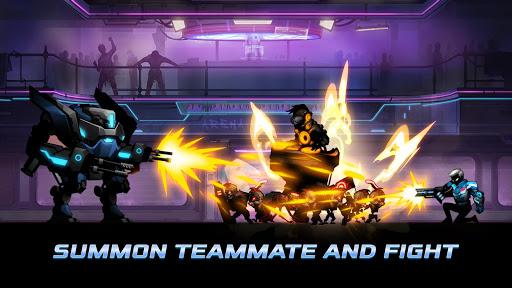 Cyber Fighters: Legends Of Shadow Battle apkpoly screenshots 6