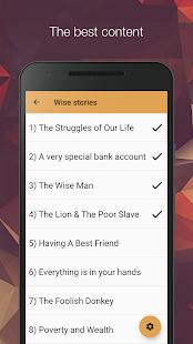 Download Wise stories  apk screenshot 2