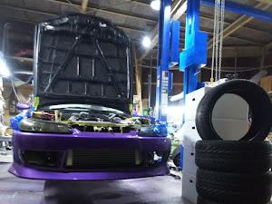 シルビア S15 スペックRのカスタム事例画像 ホイールカスタムファクトリーKz  金沢市さんの2020年10月06日21:30の投稿