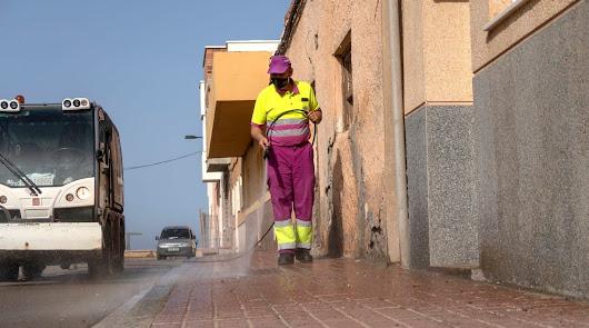 Segundo domingo consecutivo del operativo de limpieza en Cabo de Gata