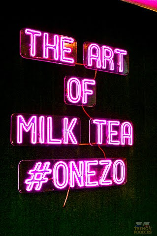 One Zo the art of milk tea