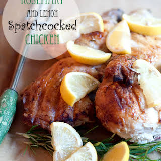 Rosemary and Lemon Spatchcocked Chicken.