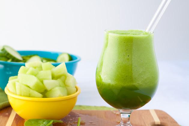 Smoothie Verde de Melón