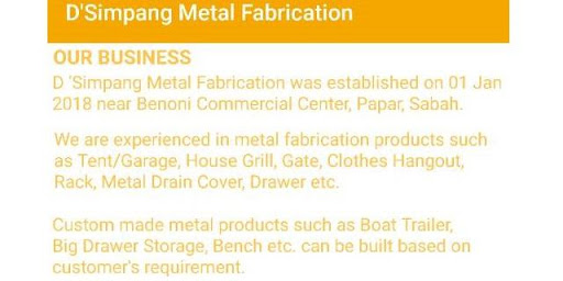 D'Simpang Metal Fabrication 2.0 screenshots 2