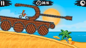 6 Moto X3M Bike Race Game App screenshot
