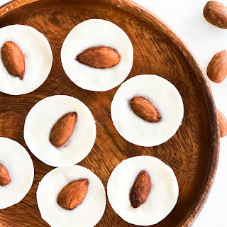 Keto White Chocolate Coconut Fat Bombs.