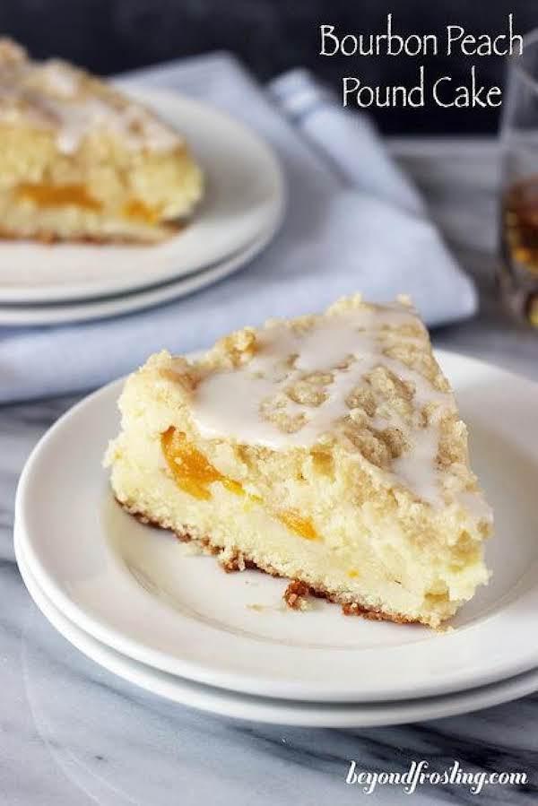 Bourbon Peach Pound Cake