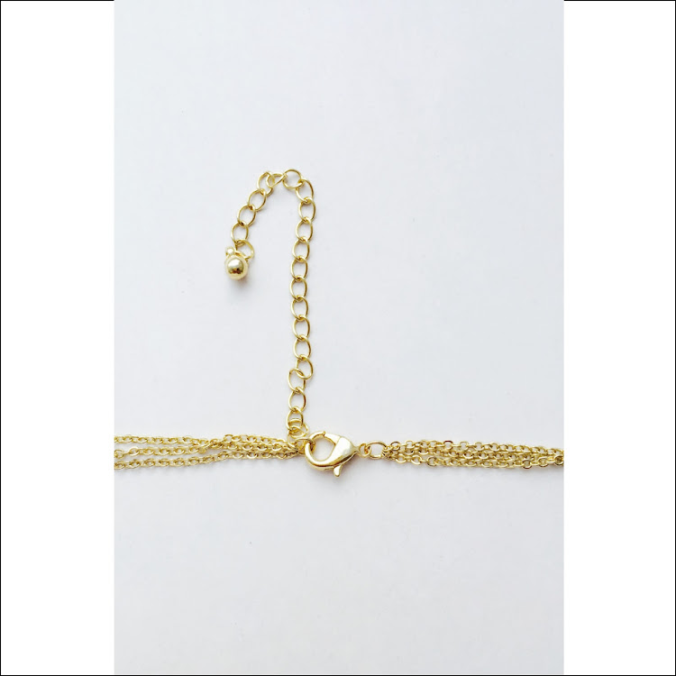 N021 - G. Minimalist Bar Necklace