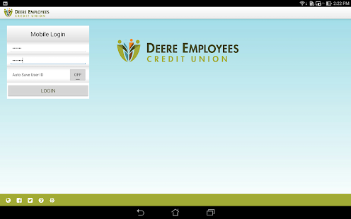 Deere Employees CU mBanking- screenshot thumbnail