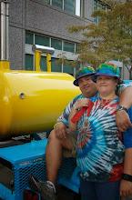 Photo: Next to the Yellow Submarine!!!!