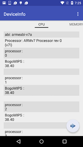 Device Info  screenshots 2