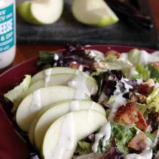 APPLE, BACON, AND BLUE CHEESE SALAD