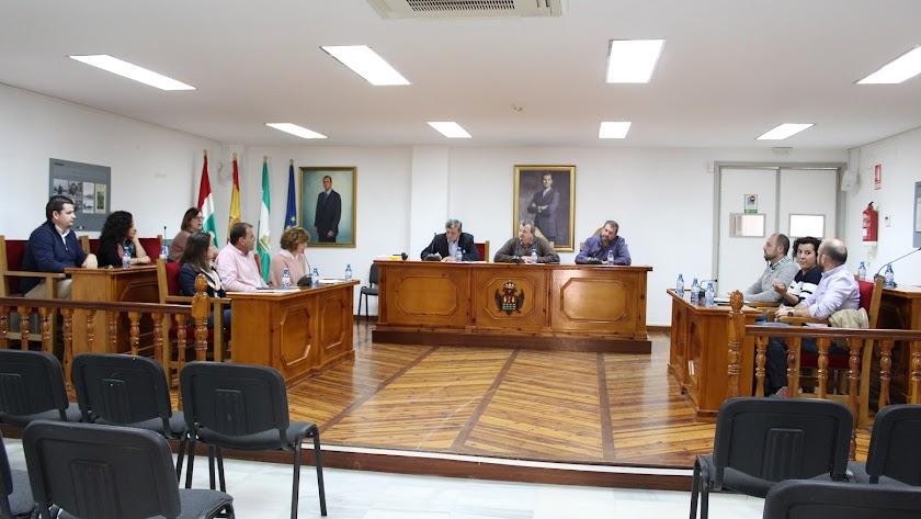 Pleno celebrado en Pulpí.