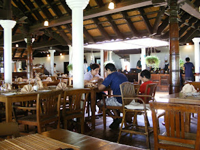 Photo: The dining room at Coconut Lagoon