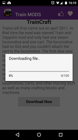 android Train Mod For MCPE. Screenshot 3