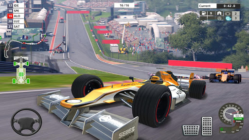 Grand Formula Racing 2019 Car Race & Driving Games apktreat screenshots 2