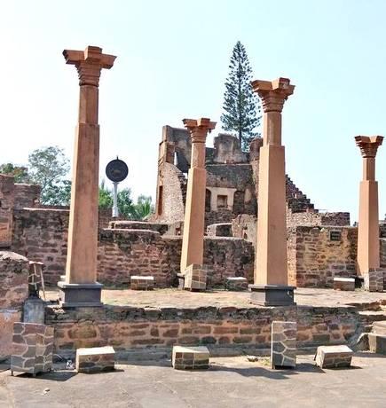 The Kittur Chennamma Fort near Belagavi